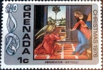 Stamps : America : Grenada :   1 cent. 1977