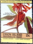 Stamps : America : Grenada :  15 cent. 1985