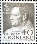 Stamps : Europe : Greenland :  Intercambio crxf 0,30 usd 40 ore 1963
