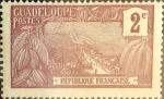 Stamps : America : Guadeloupe :  Intercambio crxf 0,25 usd 2 cent. 1905
