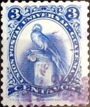 Stamps : America : Guatemala :  Intercambio 0,25 usd 3 cent. 1957
