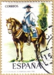Stamps Spain -  UNIFORMES - Regimiento de Montesa 1788