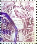 Stamps Guatemala -  Intercambio 0,20 usd 6 cent. 1895