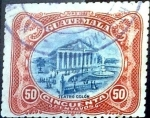 Stamps Guatemala -  Intercambio 0,40 usd 50 cent. 1902
