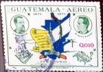 Stamps : America : Guatemala :  Intercambio hbr 0,30 usd 10 cent. 1972