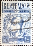 Stamps : America : Guatemala :  Intercambio 0,25 usd 10 cent. 1969
