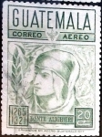 Stamps : America : Guatemala :  Intercambio 0,25 usd 20 cent. 1969