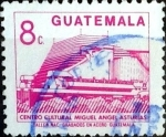 Sellos de America - Guatemala -  Intercambio 0,20 usd 8 cent. 1987