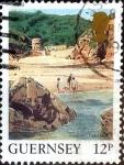 Stamps : Europe : United_Kingdom :  Intercambio 0,50 usd 12 p. 1988