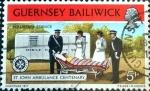 Stamps : Europe : United_Kingdom :  Intercambio 0,20 usd 5 p. 1977