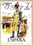 Sellos del Mundo : Europa : España : UNIFORMES - Zapador Reg. Real de Ingenieros 1809