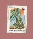 Stamps Rwanda -  Flora - Acebo Africano