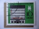Stamps Germany -  Alemania DDR /Scott/855)