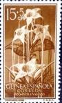 Sellos de Europa - España -  Intercambio crxf2 0,30 usd 15 + 5 cent. 1956