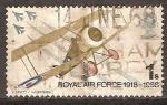Stamps United Kingdom -  50 anivº de la Real Fuerza Aérea