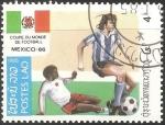 Stamps Laos -  Saltar a navegación, búsqueda       Copa Mundial de Fútbol de 1986   Descripción de la imagen de la