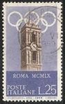 Sellos de Europa - Italia -  roma mcmlx-Roma  MCMLX - Juegos de la XVII Olimpiada - 1960