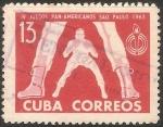 Sellos de America - Cuba -  IV Juegos Panamericanos De San Paulo 1963