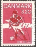 Sellos de Europa - Dinamarca -  Federation of ball sports
