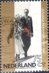 sello : Europa : Holanda : Intercambio 0,20 usd 75 cent. 1987