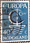 Sellos del Mundo : Europa : Holanda : Intercambio jcs 0,40 usd 40 cent. 1966