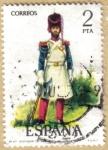 Sellos del Mundo : Europa : España : UNIFORMES - Gastador de Infanteria 1821
