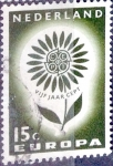 Sellos de Europa - Holanda -  Intercambio 0,20 usd 15 cent. 1964