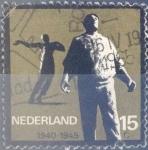 Sellos de Europa - Holanda -  Intercambio 0,20 usd  15 cent. 1965