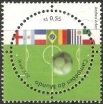Sellos del Mundo : America : Brasil : Campeonato del mundo Brasil  2002