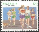 Stamps Australia -  Carrera divertida