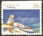 Sellos de Oceania - Australia -  Pesca
