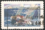 Sellos de Oceania - Australia -  50th sydney hobart yacht race