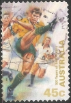 Sellos de Oceania - Australia -  100 years of test rugby