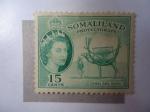 Stamps Somalia -  Grab Bretaña - Somlia-Colonias y Territorios - Camel with Load (Mi:123 - S/130 )
