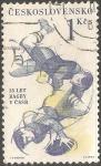 Sellos de Europa - Checoslovaquia -  Ragbi