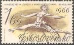 Sellos de Europa - Checoslovaquia -  Campeonato Europeo de Patinaje Artístico