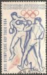Sellos de Europa - Checoslovaquia -  Juegos Olímpicos de Tokio 1964