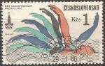 Sellos de Europa - Checoslovaquia -  Juegos Olímpicos de Moscú 1980