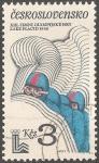 Sellos de Europa - Checoslovaquia -  Juegos Olímpicos de Invierno 1980