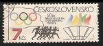 Stamps Czechoslovakia -  Juegos Olímpicos de Los Ángeles 1984
