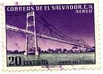Stamps of the world : El Salvador :  PUENTE DEL LITORAL