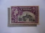 Stamps America - Trinidad y Tobago -  Elizabeth II - Town Hall, San Fernando.