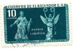 Stamps of the world : El Salvador :  PATRIA LIBERTAD