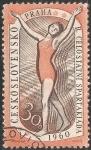 Stamps Czechoslovakia -  II Spartakiada a nivel nacional.  1960.