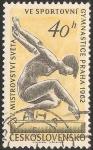 Stamps Czechoslovakia -  Campeonatos del Mundo de gimnasia artística