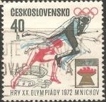 Stamps Czechoslovakia -  Juegos Olímpicos de Múnich 1972