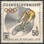Sellos de Europa - Checoslovaquia -  Juegos Olímpicos de Múnich 1972
