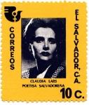 Stamps El Salvador -  POETISA SALVADOREÑA