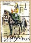 Stamps Spain -  UNIFORMES - Trompeta de Alcantara 1815