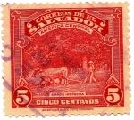 Stamps : America : El_Salvador :  ARADOINDIGENA